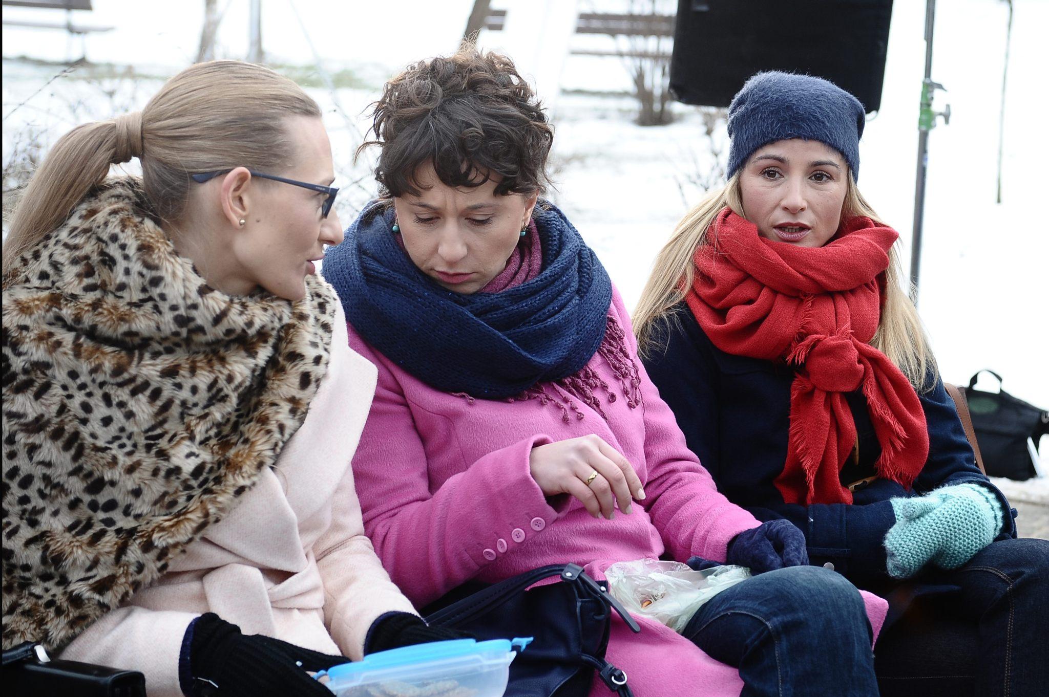 Magdalena Popławska, Monika Mariotti, Joanna Brodzik
